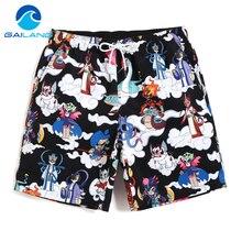 Gailang Brand Casual Jogger Sweatpants Activewear Mens Beach Board Shorts Trunks