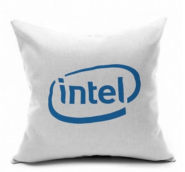 processor chip maker computer technology symbol logo emoji pillow