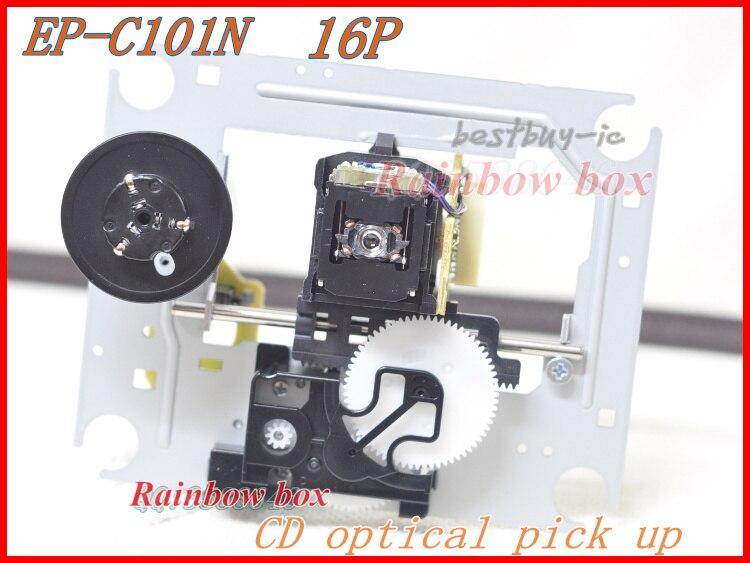 EP-C101 EP C101 (16PIN) capteur optique avec Mécanisme avec Perle Platine (DA11-16P) CD lecteur DA11 lentille laser EP C101