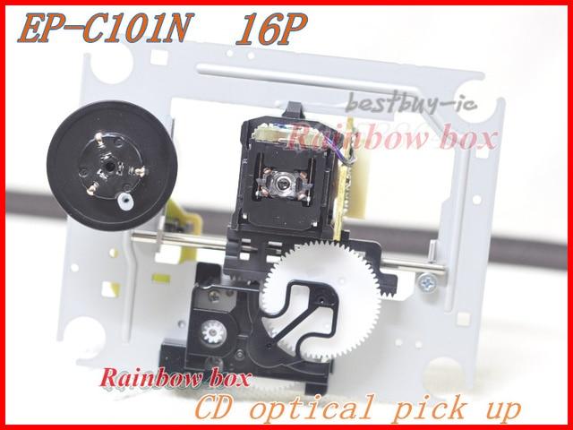 EP C101 EP C101N (16PIN) captador Ótico com Mecanismo com Bead Turntable (DA11 16P) CD player lente do laser EP DA11 C101