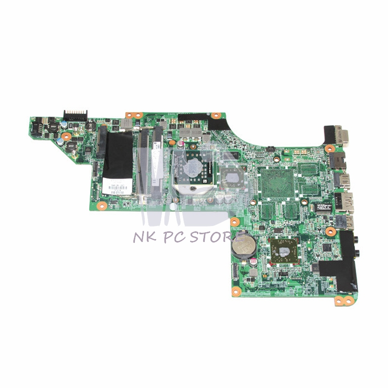цены 595135-001 Laptop Motherboard For HP Pavilion DV6Z-3200 DV6-3000 Main Board DA0LX8MB6D1 DDR3 Socket S1 Free CPU