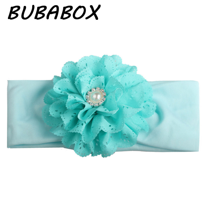 1 Pc Children Baby Hollow Out Flower Crystal Headband Headwear Toddle Infant Girls Flower Bow Elastic Hair Bands Accessories newborn photography props child headband baby hair accessory baby hair accessory female child hair bands infant accessories