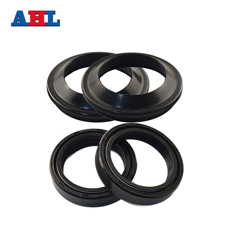 Motorcycle 46 58 Front Fork Damper Oil Seal & Dust Seals For KAWASAKI ZX600 ZX 6R ZZR600 ZX900 ZX 9R KX250 YAMAHA VZR1800 YZ250F|fork seal yamaha|damper yamaha|yamaha forks - title=