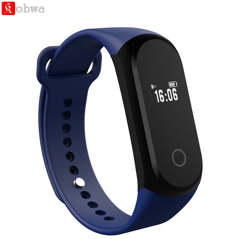 A16 Heart Rate Smart Bracelet 0 42 Inches OLED Screen Sleep Monitor Pedometer Bluetooth 4 0