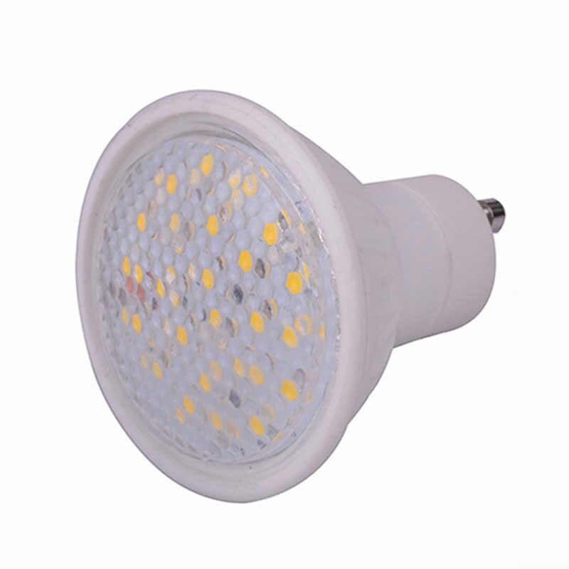 Светодиодный индикатор GU10 9 Вт светодиодный свет лампы 110 В 220 В лампада светодиодный Spotlight SMD5730 затемнения Керамика люстры огни спальня освещения