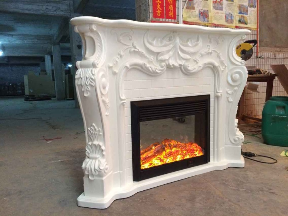 Online Buy Wholesale resin fireplace mantels from China resin ...