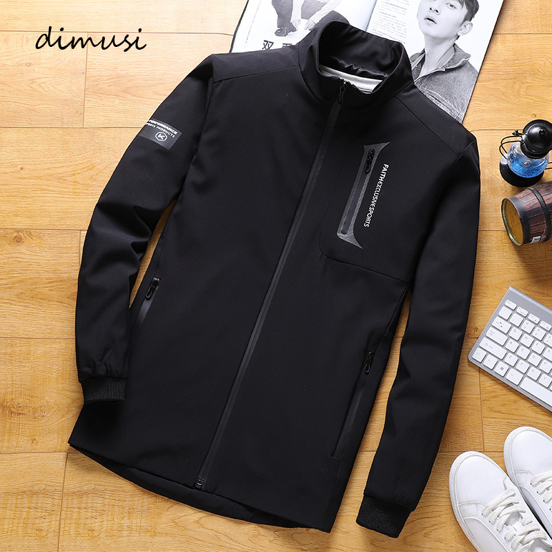 DIMUSI Mens Jackets Fashion Male Anorak Windbreaker Jacket Casual Baseball Unifor Mens Hip Hop Streetwear Bomber Jackets 8XL 9XL