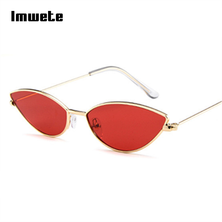bb4155fe2a9 Detail Feedback Questions about Imwete Sexy Cat Eye Sunglasses Women Retro  Small Frame Black Pink Cateye Sun Glasses Female Vintage Shades G on ...