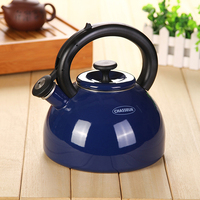 2.5L thick enamel whistling kettle kettle teapot jug cooker pot by Chinese medicine pot