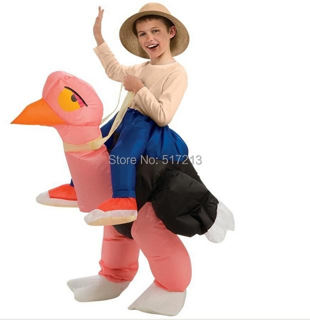 disfraces de halloween para los nios embroma avestruz inflable traje decoracin de la navidad trajes divertidos
