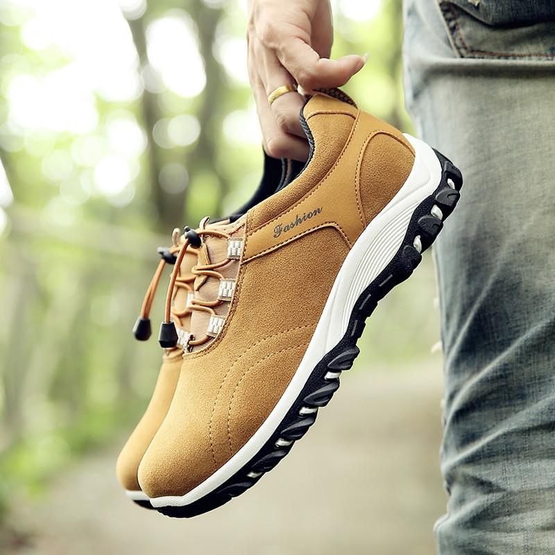 Venta caliente Verano Hombres Zapatos Informales Slip-On Estilo - Zapatos de hombre - foto 5