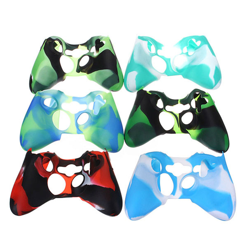 New Quality Silicone Skin Case Cover for XBOX 360 Game Controller Rubber Case For Xbox360