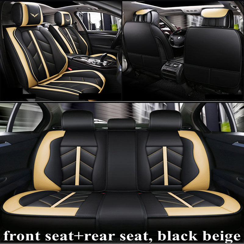 Front+Rear Car Seat Cover For ACURA CDX ILX LEGEND MDX RDX