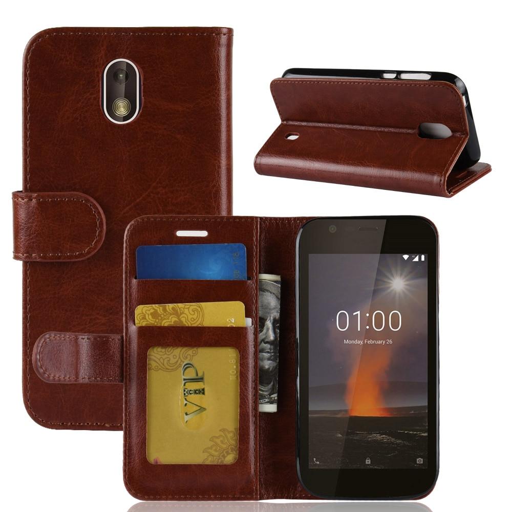 100 sztuk/partia crazy horse portfel skórzany pokrowiec Case do Nokia 7.1 6.1 6 2018 2.1 2 V 3.1 5.1X6X5 8 Sriocco plus 9 PureView 1 w Etui na portfel od Telefony komórkowe i telekomunikacja na AliExpress - 11.11_Double 11Singles' Day 1