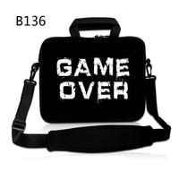 Game Over Laptopa torba na ramię Torebka dla 14 15.6 13