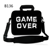Game Over Laptop Shoulder Bag Handbag For 14 15 6 13 15 17 17 3 11