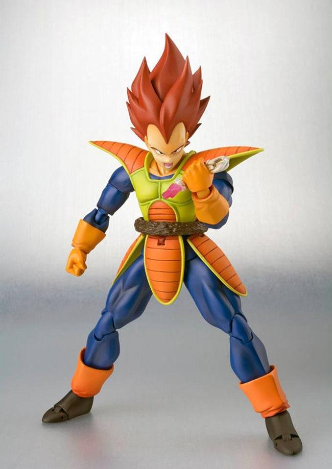 15cm High Quality Dragon Ball Model SHF Combat Gear Movable Vegeta Action Figure
