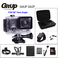 GitUP Git2P 90 Degree Lens Action Camera 2K Wifi Sports DV Full HD 1080P 30m Waterproof mini Camcorder 1.5 inch Novatek 96660