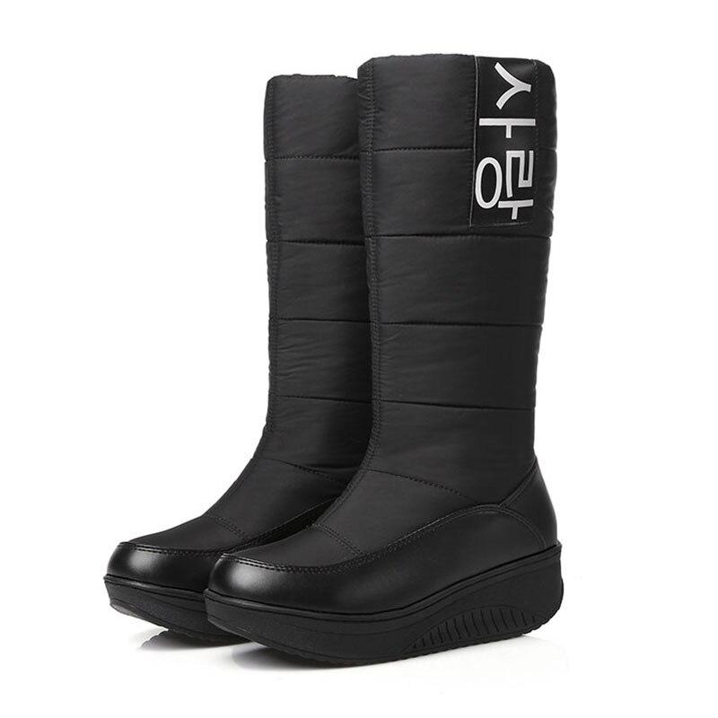 Rain Boots Fur Inside