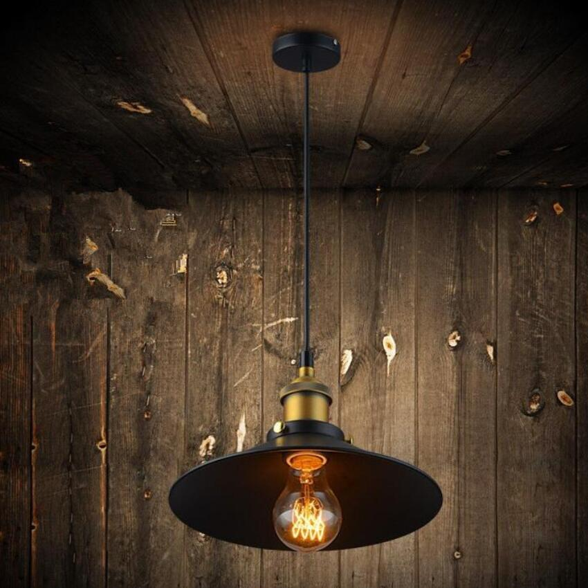 Nordic Retro Industrial Ceiling Lamps LED Lamps Living