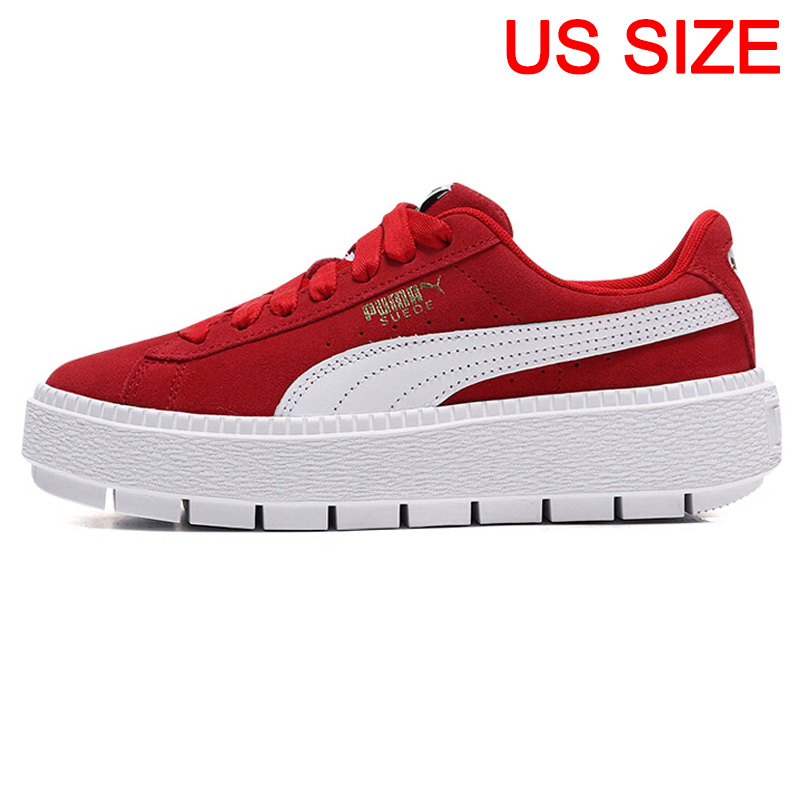 watch be3ef 32a49 US $109.9 30% OFF|Original New Arrival PUMA Platform Trace Wn;s MU Women's  Skateboarding Shoes Sneakers-in Skateboarding from Sports & Entertainment  ...