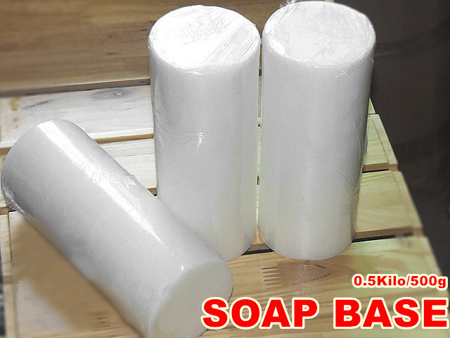 Formula White Soap Making Base Glycerin Natural Handmade DIY Soaps 500g
