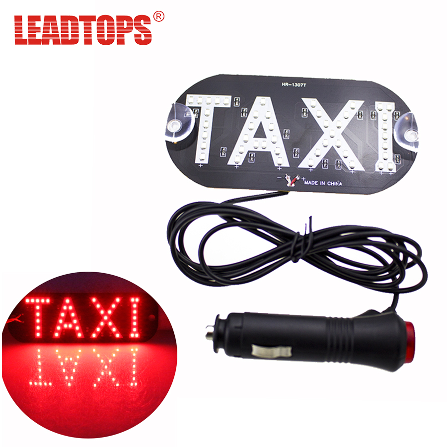 1pcs/lot Taxi Led Car Cab Indicator Lamp With Switch LED Windshield Taxi Light Lamp 12V For audi a3 a4 CE wholesale taxi led light auto indicator lamp vehicles car windscreen cab sign white led taxi lamp 12v car styling free shipping