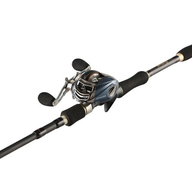 Casting Fishing Rod Set with 9+1BB Super light Reel 185g Telescopic Fishing Spinning Rods 1.8m/2.1m/2.4m/2.7m Travel rod Combo