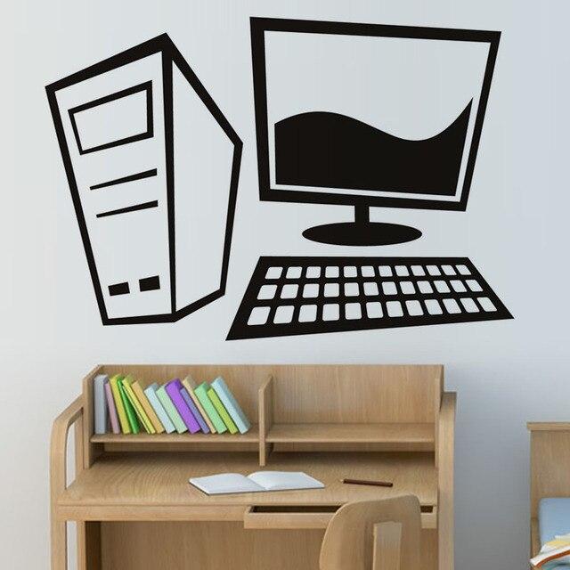 Creative Home Decor Vinyl Removable Simple Design Cartoon ...