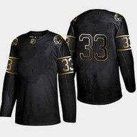 2019 new Customized retro hockey jerseys 33 black college ice hockey sweatshirt Custom your name and number