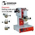 ZY-RM2-DP пневматическая машина для кодирования циферблата с кодовым принтером  автоматическая машина для штамповки кожаного логотипа