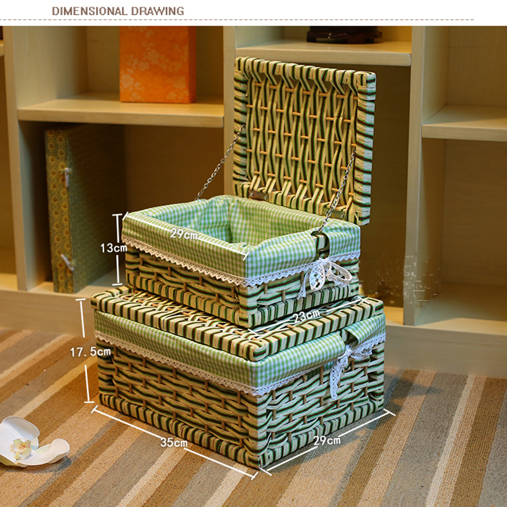 Home Storage U0026 Organization Storage Container Basket Paper Rope Storage Bins  Rectangular Basket Organizer Box Organizador Cesta In Storage Baskets From  Home ...