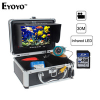 Eyoyo Original 7 White LED Underwater Fishing Camera 30M Cable 1000TVL HD CAM Fish Finder Video