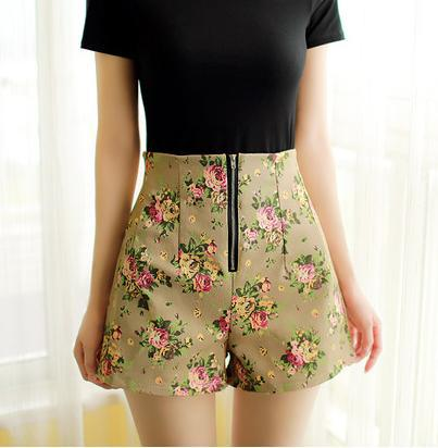 Buy Women's Elastic Waist Shorts Pattern 60% OFF Custom High Waisted Shorts Pattern
