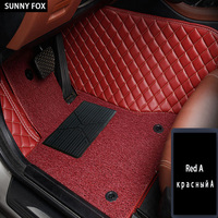 Car floor mats for BMW 3 series E46 E90 E91 E92 E93 F30 F31 F34 GT 5D car styling carpet floor liners (1999 present)