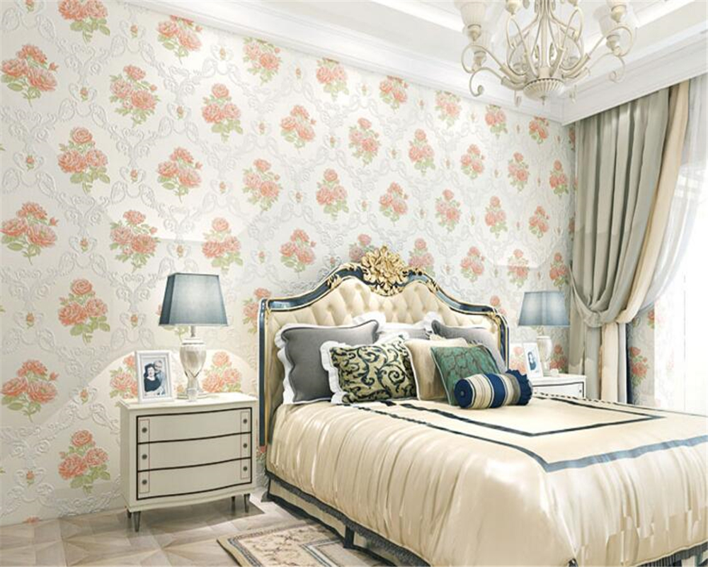 beibehang new interior papel de parede wall paper European pastoral nonwoven living room bedroom restaurant background wallpaper snow background wall papel de parede restaurant clubs ktv bar wall paper roll new design texture special style house decoration