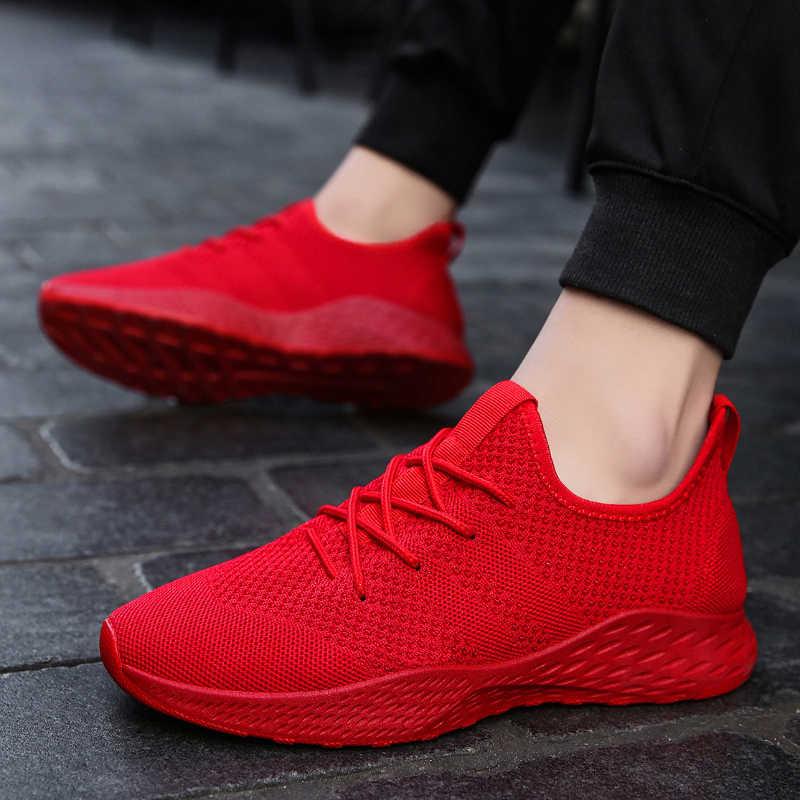 disfruta del envío gratis comprando ahora gama exclusiva BomKinta zapatillas de deporte para hombre 2019 zapatillas de correr para  mujer rojo Trending deportes zapatos Unisex ligero Jogging zapatillas Fly  ...