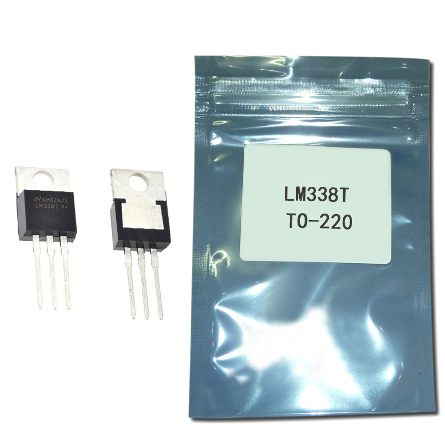 Free Shipping 10pcs LM338T LM338 Voltage Regulator 5A 1.2V To 32V Output Is Short-circuit Protected TO-220