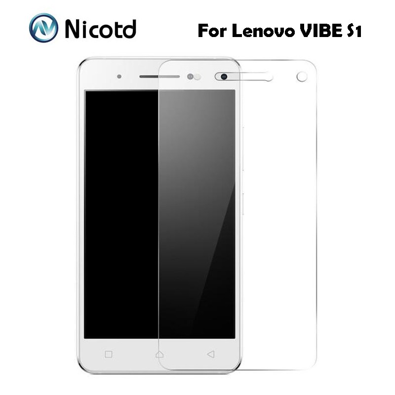 For Lenovo Vibe S1 Tempered Glass Original 2.5D 9H Protective Film Explosion-proof Screen Protector On S 1 S1a40 S1c50 Dual Sim