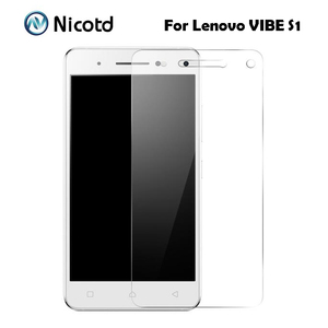 For Lenovo Vibe S1 Tempered Glass Original 2.5D 9H Protective Film Explosion-proof Screen Protector On S 1 S1a40 S1c50 Dual Sim(China)