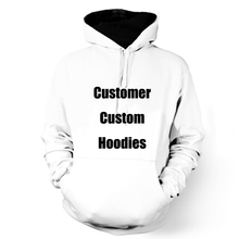 ONSEME Customer Custom Pullovers Men/Women Long Sleeve Sweatshirts Hooded Male Female