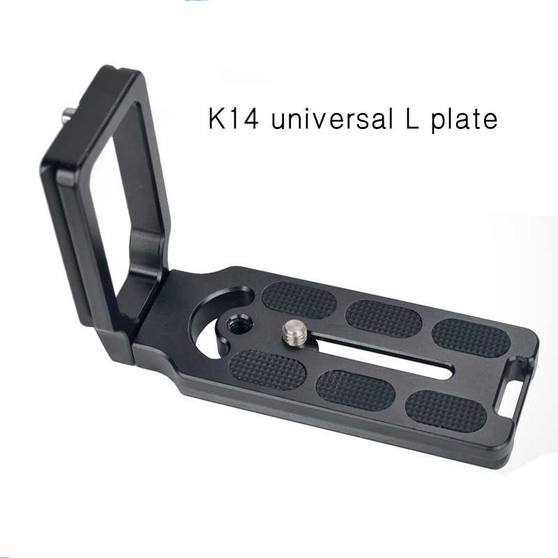 MPU100 Quick Release L Plate Bracket for Camera Benro Arca Swiss High Quality Photography Accessories