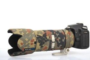 Image 5 - Rolanpro lente camuflagem casaco capa de chuva para canon ef 70 200mm f2.8 l é ii usm lente proteção luva armas caso saco ao ar livre