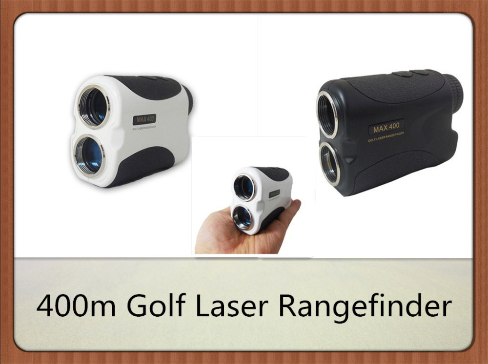 New Style 400m Golf Laser Rangefinder with Pin Seeker Function Hunting Monocular Laser Distance Meter Device simulation mini golf course display toy set with golf club ball flag