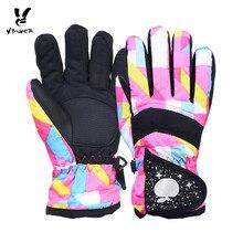 Zimní dětské voděodolné rukavice – mnoho barev