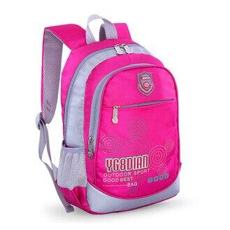 6803c9d6c50e Детские школьные сумки для девочек backbag Книга сумка дети  водонепроницаемый нейлон школьный рюкзак начальной школы студента