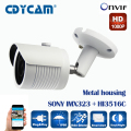 SONY IMX323 + HI3516C 2MP IP Camera 1080P Full HD camera IP outdoor p2p  Night Vision Waterproof CCTV  Camera IR-CUT,ONVIF 2.4
