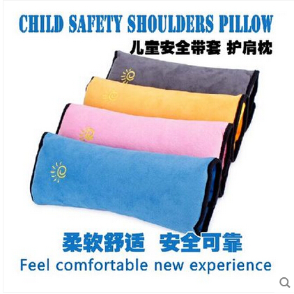 Car-styling Car seat belt Shoulder Pillow For Cadillac CTS XTS SRX ATS CT6 ESCALADE