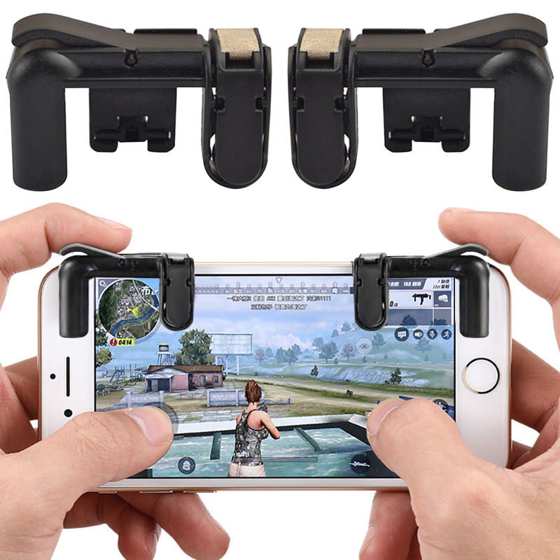 Gamepad Game Pad Control for Fortnite FPS TPS Mobile Phone Andriod Shooting Games Fire Button Key Triggers Joysticks gamepad