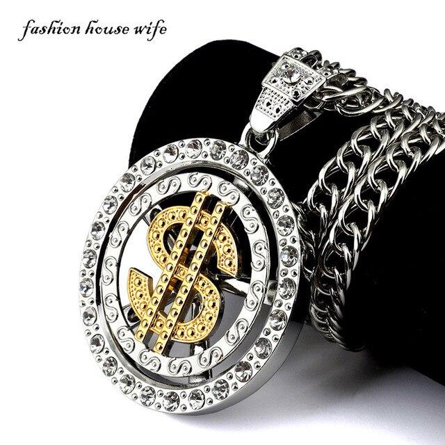 Hip hop schmuck  Aliexpress.com : Hip hop Gold Silber Kette Halskette Men Fashion ...